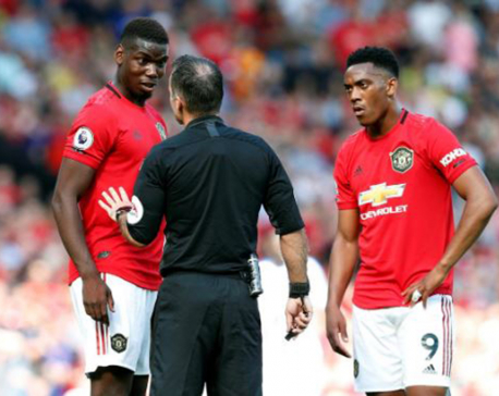 Pogba among Man United trio out for West Ham clash, James doubtful