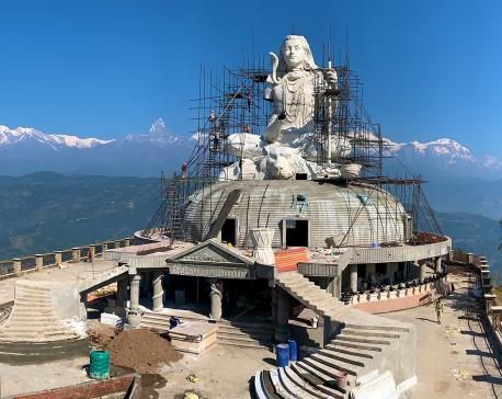 Nepal's tallest Shiva statue being built in Pokhara, expected to boost religious tourism (with photos)