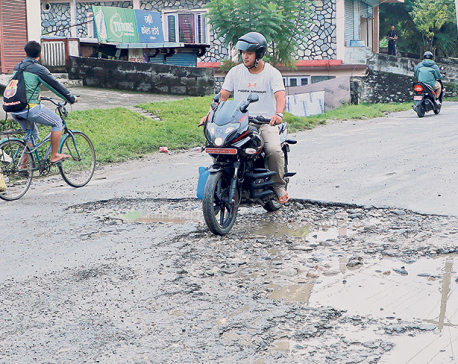 Potholes: Death traps of the tourist city