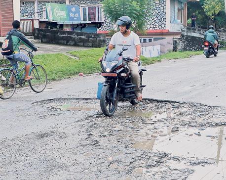 Potholes: Death traps of the tourist city