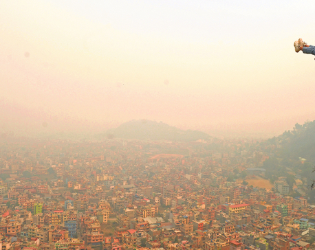 Weather unlikely to improve any time soon, smog to remain for few more days in Nepal's lower atmosphere