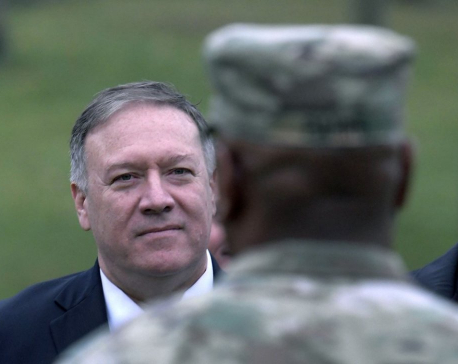 Pompeo to visit US troops in Germany, meets leaders