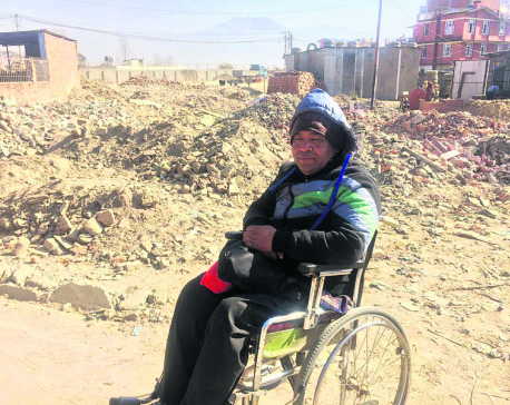 Road widening drive adds to woes for wheelchair users