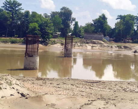 Kandra Bridge not built even in eight years