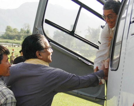 Onboard Kathmandu: Rebel Dahal and Bhattarai's flight to Baluwatar