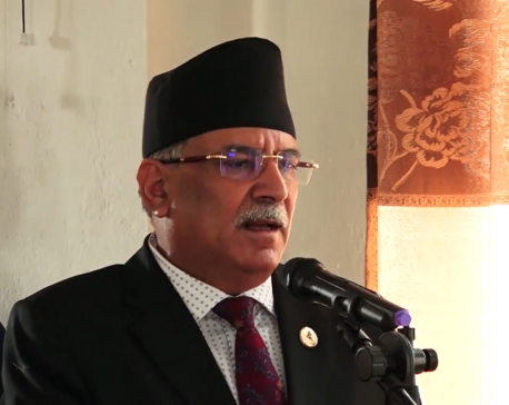 Threat of party split not over yet; CPN-UML registered at the behest of PM Oli: Chairman Dahal