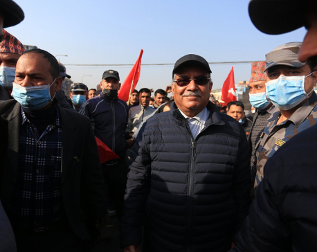 It is not just a battle between Dahal-Nepal and Oli: Prachanda