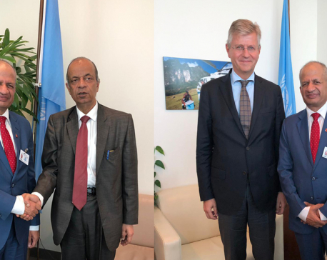 Top UN officials laud Nepal's contribution to world peace