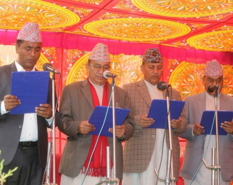 Province 3: Dulal, Nepal, Dhungel and Tamang sworn in as ministers
