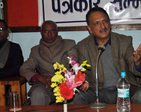 Minister Mahat calls on UML to end House obstruction