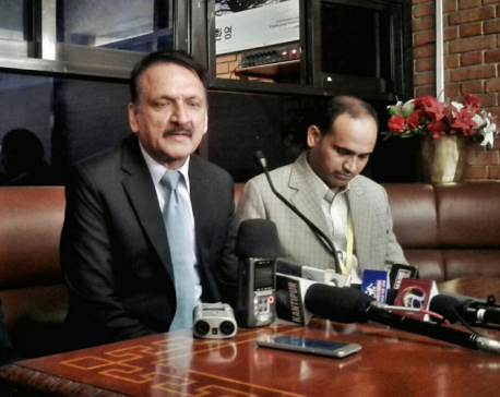 Minister Mahat returns home