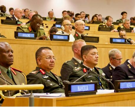 Increase facilities of Nepali peacekeeping force: CoAS Chhetri