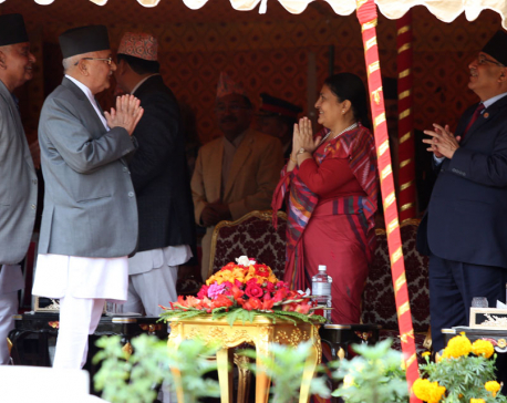 President hosts reception on the Occasion of Republic Day (photo feature)