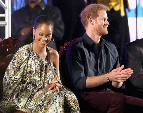 Prince Harry's wish to meet Rihanna has finally come true