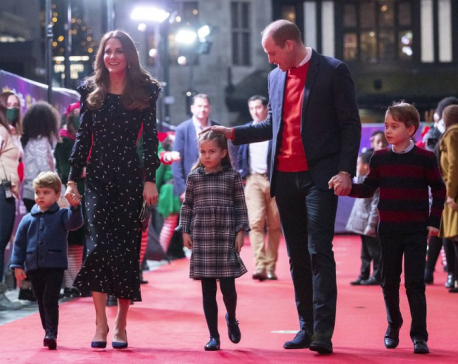Prince William thanks pandemic workers at Christmas show