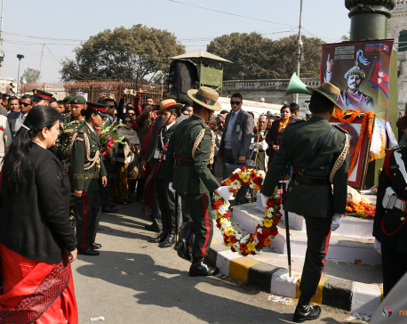 296th Prithvi Jayanti being observed (photo feature)