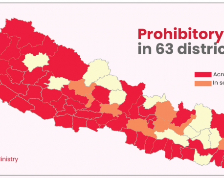 Prohibitory order enforced in 63 districts