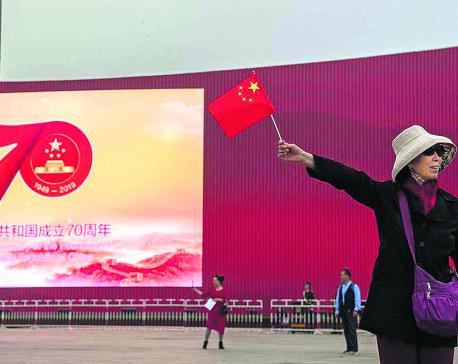 China adjusts to new world order