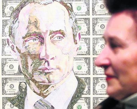 Putin means money
