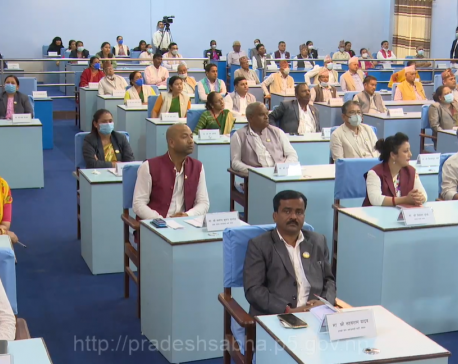 It's official: Province 5 named as Lumbini, Deukhuri is its capital (with video)