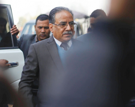 PM Dahal consults with CEC Yadav over local polls