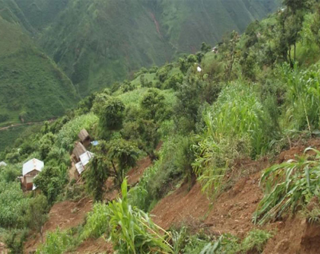 3 days on: Pyuthan landslide victims deprived of relief materials