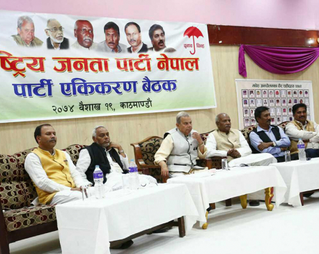 RJPN holding  'unification gathering' in capital