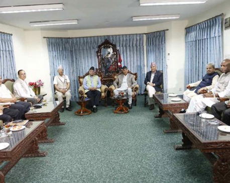 Major parties-RJPN meeting ends inconclusively