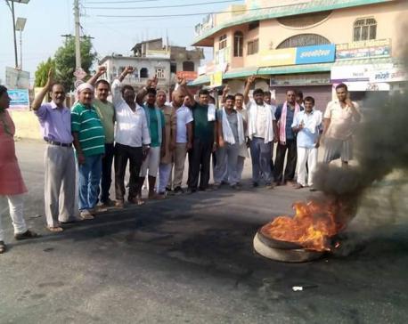 RJPN leaders held for vandalizing Indian No. plate  vehicle