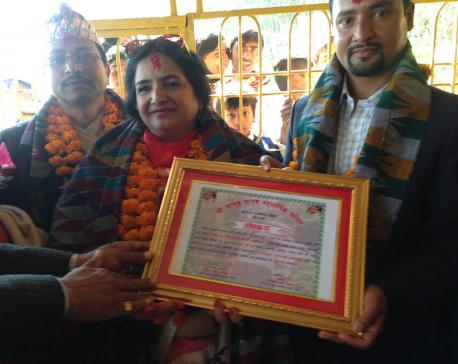 Philanthropist Pokharel spends Rs 17.5 million in charity