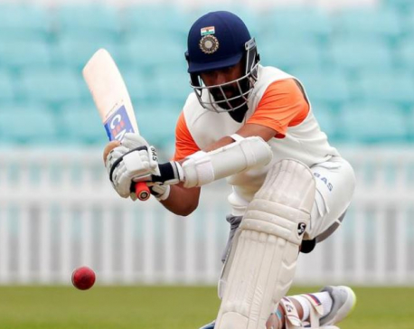 Rahane reigns as India batsmen banish nightmare 36