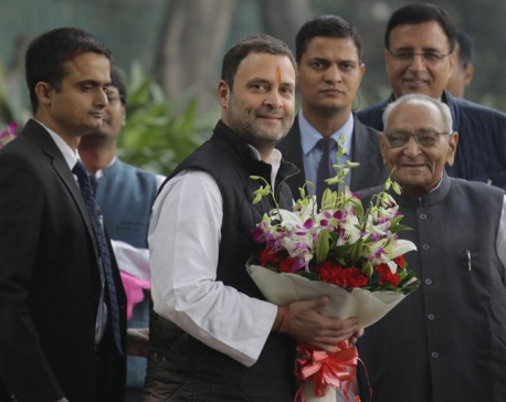 Rahul Gandhi set to be opposition Congress party chief