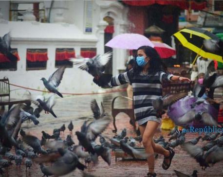 PHOTOS: Kathmandu during rain