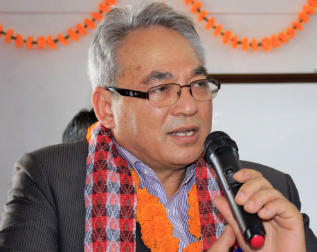 Government will be severe against corruption and monopoly: Home Minister Thapa