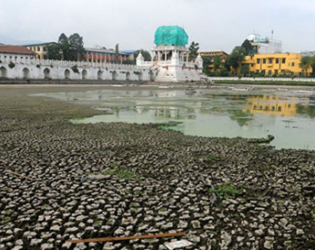 Reconstruction of Rani Pokhari to further delay