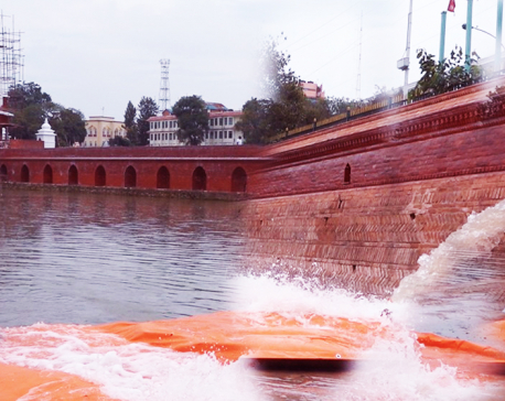 VIDEO: 20 million liters water poured into Rani Pokhari
