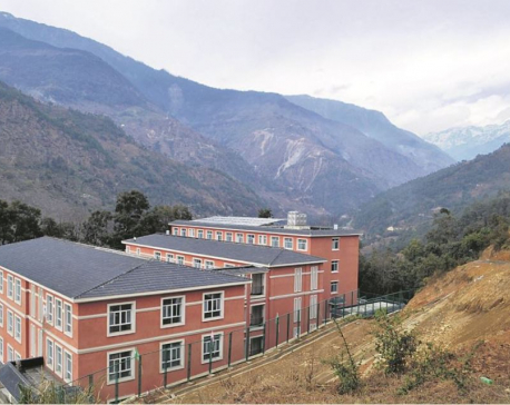 Sindhupalchowk gets plush school buildings with Chinese assistance of Rs 1 billion