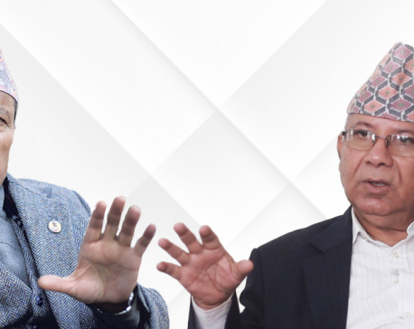 CPN-UML suspends ordinary membership of senior leader Nepal, Vice-chair Rawal for six months