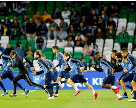 Real Madrid footballers quarantined after basketball player gets coronavirus