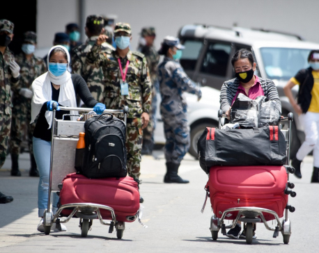 1,097 Nepali nationals stranded in foreign countries repatriated on Wednesday