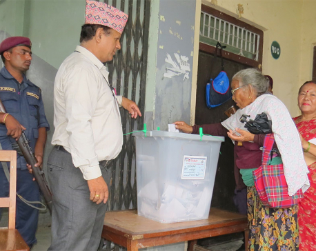 75% voter turnout in Bharatpur repoll; 27 votes less than before