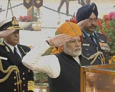 India marks 69th Republic day with grand celebrations