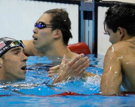 A stunner in Rio: Phelps beaten by 21-year-old in 100 fly