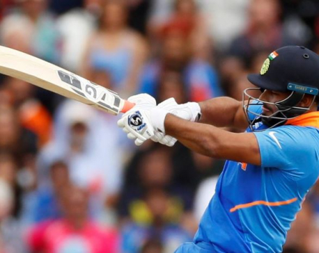 Pant eases pressure on himself with maiden ODI fifty