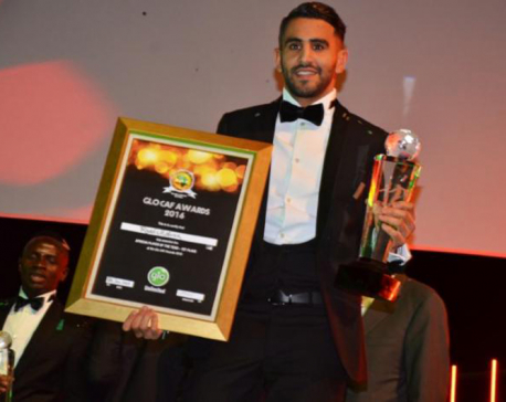Riyad Mahrez named African Footballer of the Year