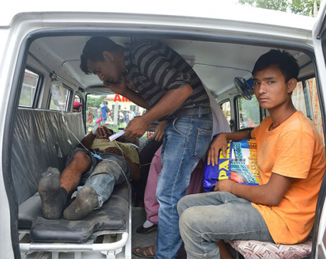 1 killed, 3 injured in Tanahun bus mishap