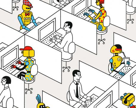 It's the robots, stupid
