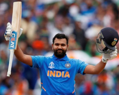 Reborn Rohit making the most of fresh test opportunity