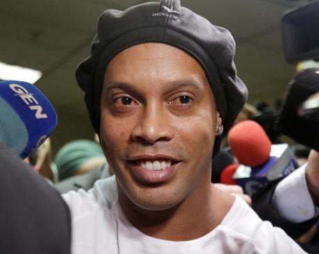 Former Barcelona forward Ronaldinho arrested in Paraguay - police