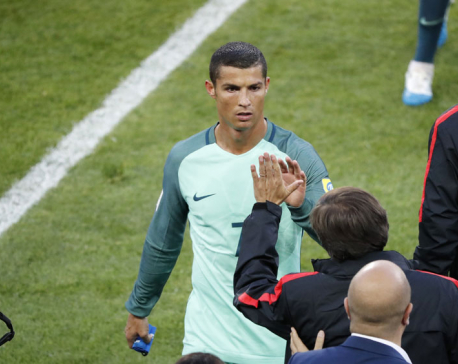 Ronaldo heads Portugal to 1-0 win over Russia